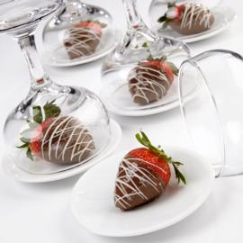 Dramatically Drizzled Candy Strawberries