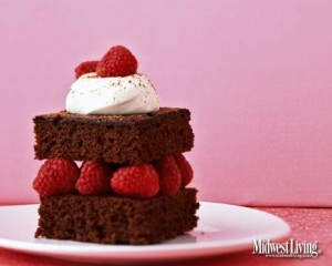 Heavenly Devil's Food Cake  No calories when you put this on your desktop! But if you decide to bake it, you'll get a moist and rich cake that you can top with whipping cream, fruit, ice cream or frosting.