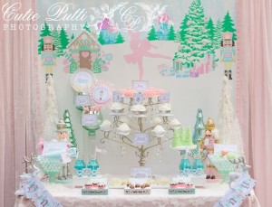 Sugar Plum Fairy Christmas Christmas / Holiday Party Ideas