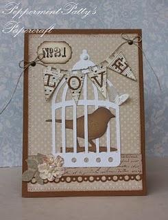Birdcage card.