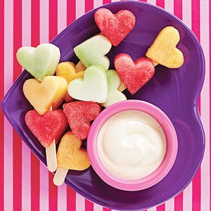 Heart Fruit Kabobs