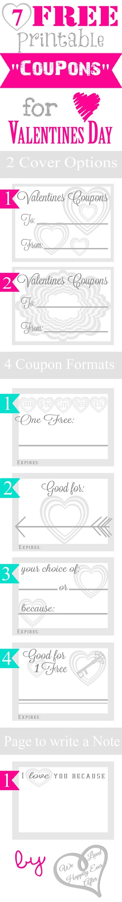 "Free Printable ""Coupons"" for Valentine's Day!"