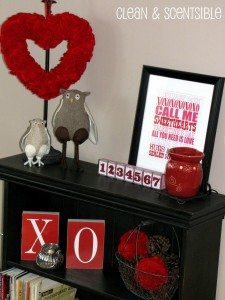 Felt Valentine's Decor