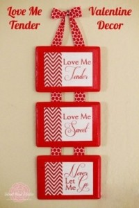 Valentines Day Home Decor: Decorating Craft Ideas