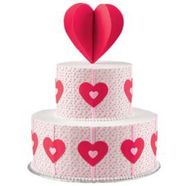 Heart-Felt Fancy Cake