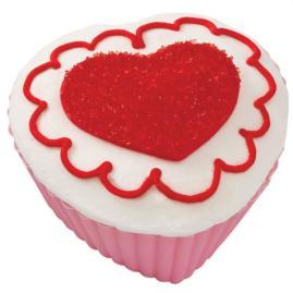 Hearts' Desire Shimmering Cupcakes