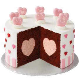Hearts Galore Cake