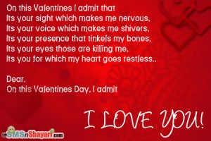 Feb14- Valentines Day sms