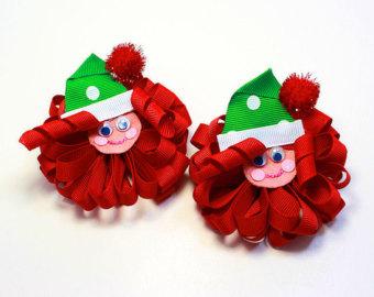 Christmas Hair Bows / Christmas Hairbow