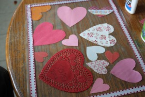 Valentine's Day Place Mat