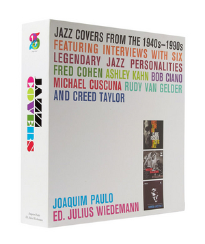 Jazz Covers Hardcover Books He'll swoon when he opens this slipcase, which is filled with two volumes worth of his favorite jazz covers.