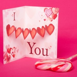Valentine's Day Heart Pop-Up Card This Valentine's Day, tell someone special that you love them with this crafty card.