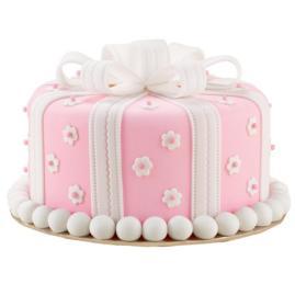 Pretty as a Present Cake