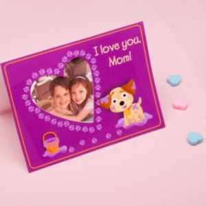 Adorable Puppy Photo Card for Mom This sweet photo card is the perfect gift for Mom