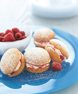 Raspberry Powder Puffs
