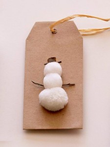 Snowman Gift Tags from Better House and Gardens