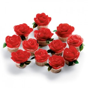 Rose Cupcakes Rose Cupcakes make a decorative and delicious sweet treat