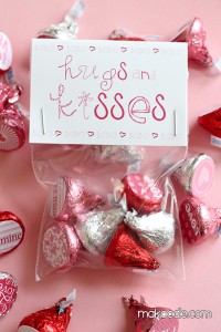 Valentine Hershey Kisses Labels