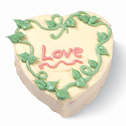 Sweetheart Valentine Cake In honor of St. Valentine, hand some cake-decorating supplies to your kids and help them write sweet messages in icing.