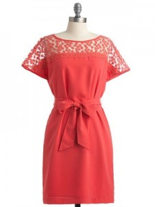ModCloth Gladsome Greetings Dress