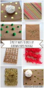 8 Ways to Dress Up a Brown Paper Package