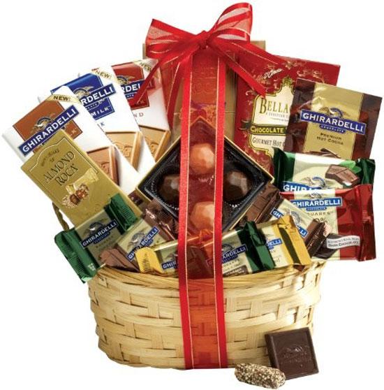Chocolate Gift Basket Supreme A Gourmet Idea